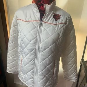 Jackets & Blazers - Chicago Bears sz L Ladies coat.